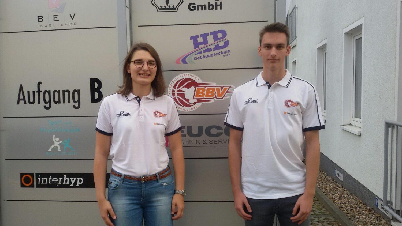 Unsere neuen dualen Studenten Linda und Tobias