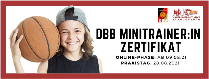 DBB MinitrainerIn-Zertifikat